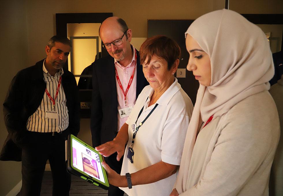 Starfish Labs hosts UAE visitors to Shropshire
