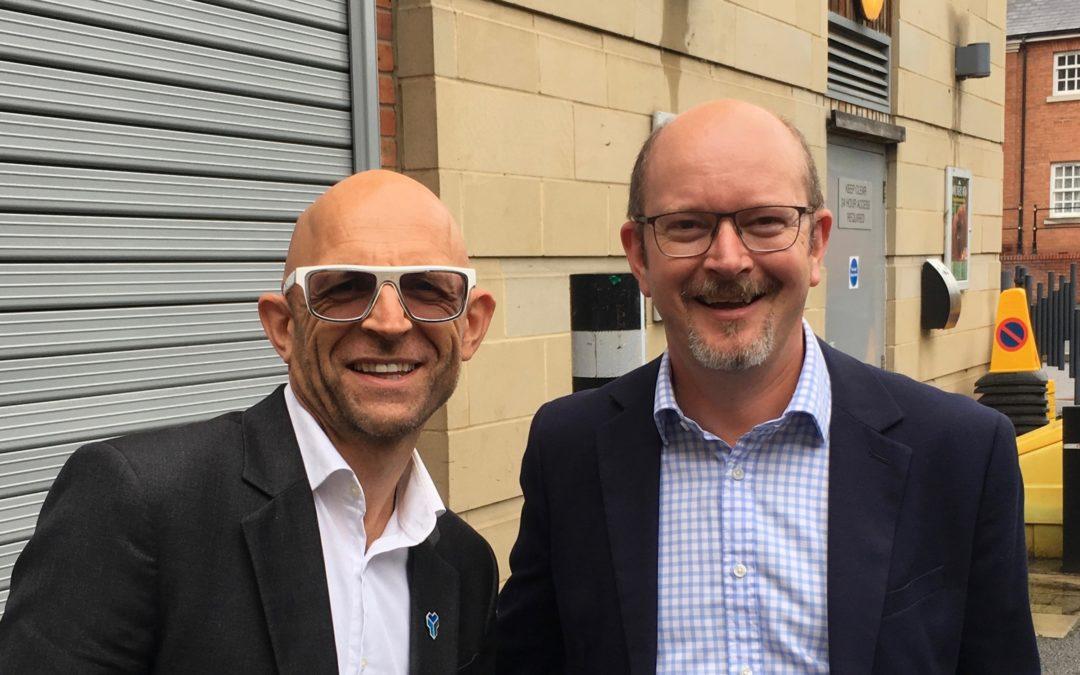 Neil Meets 'Gadget Show' Host Jason Bradbury