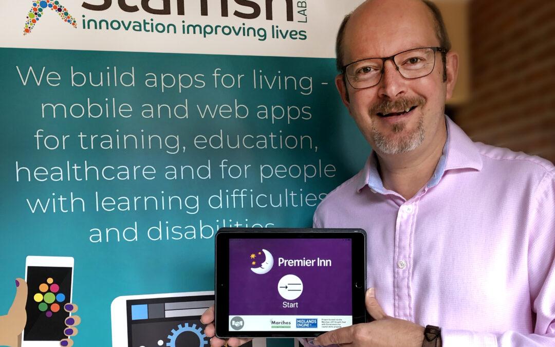 National award recognises innovation in Derwen College Apps